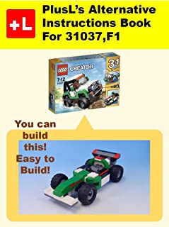 PlusL's Alternative Instruction For 31037,F1: You can build the F1 out of your own bricks!
