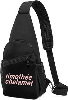 Hdadwy Timothee Chalamet Hombres Mujeres Crossbody Sling Mochila Sling Bag Viaje Senderismo Bolsa De Pecho Mochila De Día ...