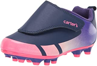 Carter's Unisex-Child Fica Hook and Loop Sports Cleat Sneaker