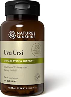 Nature's Sunshine Uva Ursi, 100 Capsules