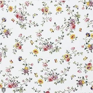 ALINK Floral Paper Napkins, Spring Flower Design Vintage Luncheo Napkins Serviettes, 20 Count for Weeding, Dinner Party
