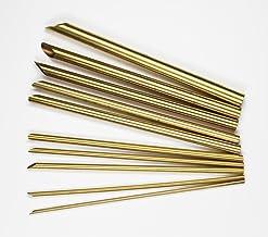 陶芸用品 陶芸道具 陶芸 粘土 ポンス 10本セット 真鍮製