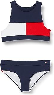 Tommy Hilfiger Crop Top Set Bikini para Niñas