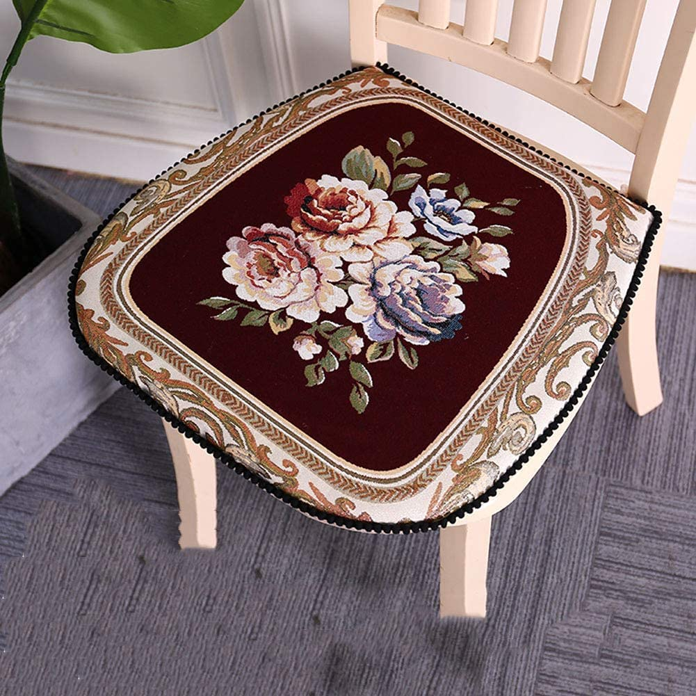 Fees free XYSQWZ Home Thicken Seat Cushions Cushion Colorado Springs Mall Ties with Dining Chair
