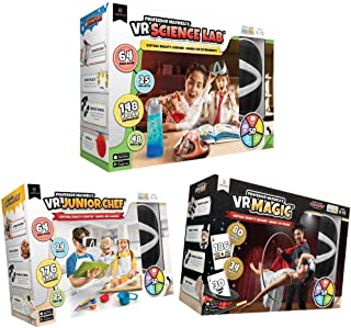 Professor Maxwell`s VR Science Lab, VR Junior Chef, and VR Magic Interactive Learning Activity Set Bundle