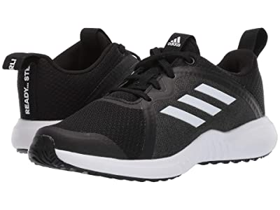adidas Kids FortaRun X (Little Kid/Big Kid) (Black/White) Girls Shoes
