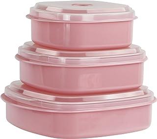 Calypso Basics 6-Piece Microwave Cookware  Set, Pink
