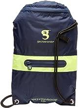 geckobrands waterproof drawstring 2.0 backpack