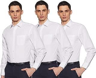 Marks & Spencer Men's Plain Regular Fit Formal Shirt