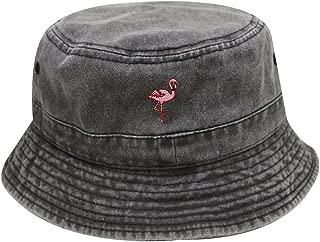 City Hunter Bd2020 Flamingo Washed Cotton Bucket Hats - 13 Colors