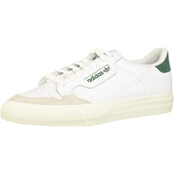 adidas Continental Vulc Chaussures Cloud WhiteGreen: Amazon