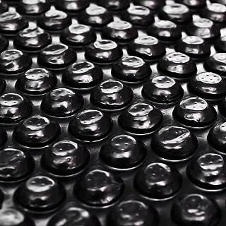 vidaXL Película Negra Rectangular de Polietileno Flotante de Piscina 10x5 m