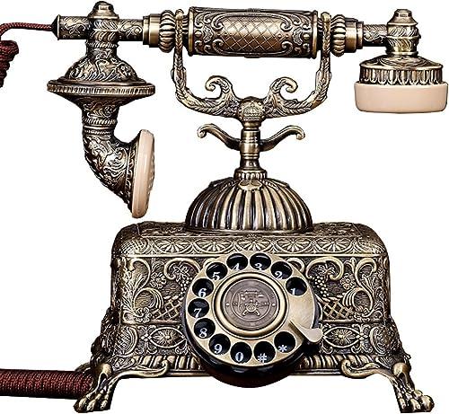 Telefon Festnetz Europ ches Telefon Home Mode Vintage Festnetz Büro Retro Telefon