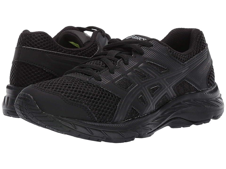 ASICS Kids Gel-Contend 5 GS (Big Kid) (Black) Kids Shoes
