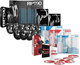 RIPT90: 90 Day 14-DVD Workout Program with 14 Exercise Videos Training Calendar + Triple Threat Running: Runners Workout P...