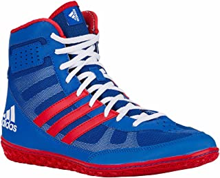 adidas Mat Wizard 3 David Taylor Edition Wrestling Shoes - Royal/Red/White - 11.5
