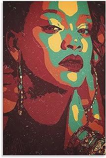 Rihanna Pop Art Print Afrocentric Photo Black Fenty Wall Art Singer Music Artist Celebrity R /& B Hip Hop Home Decor House Warming Gifts