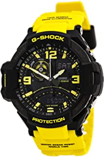 G-Shock GA-1000-9B Gravity Master Designer Watch - Yellow/Black/One Size