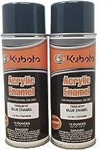 Kubota 2PK Genuine OEM Blue Touch Up Spray Paint
