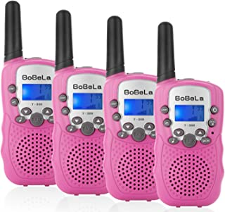 Walkie-Talkies 4 Pack for Adults Men Women - Two-Way-Radios Walky-Talky Gifts for Family Baby Teen Kids Boys Girls Him Her