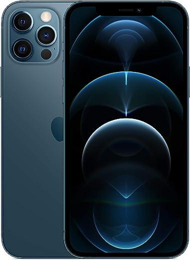 جوال ايفون 12 برو الجديد من ابل مع فيس تايم (128 جيجا) - ازرق فاتح