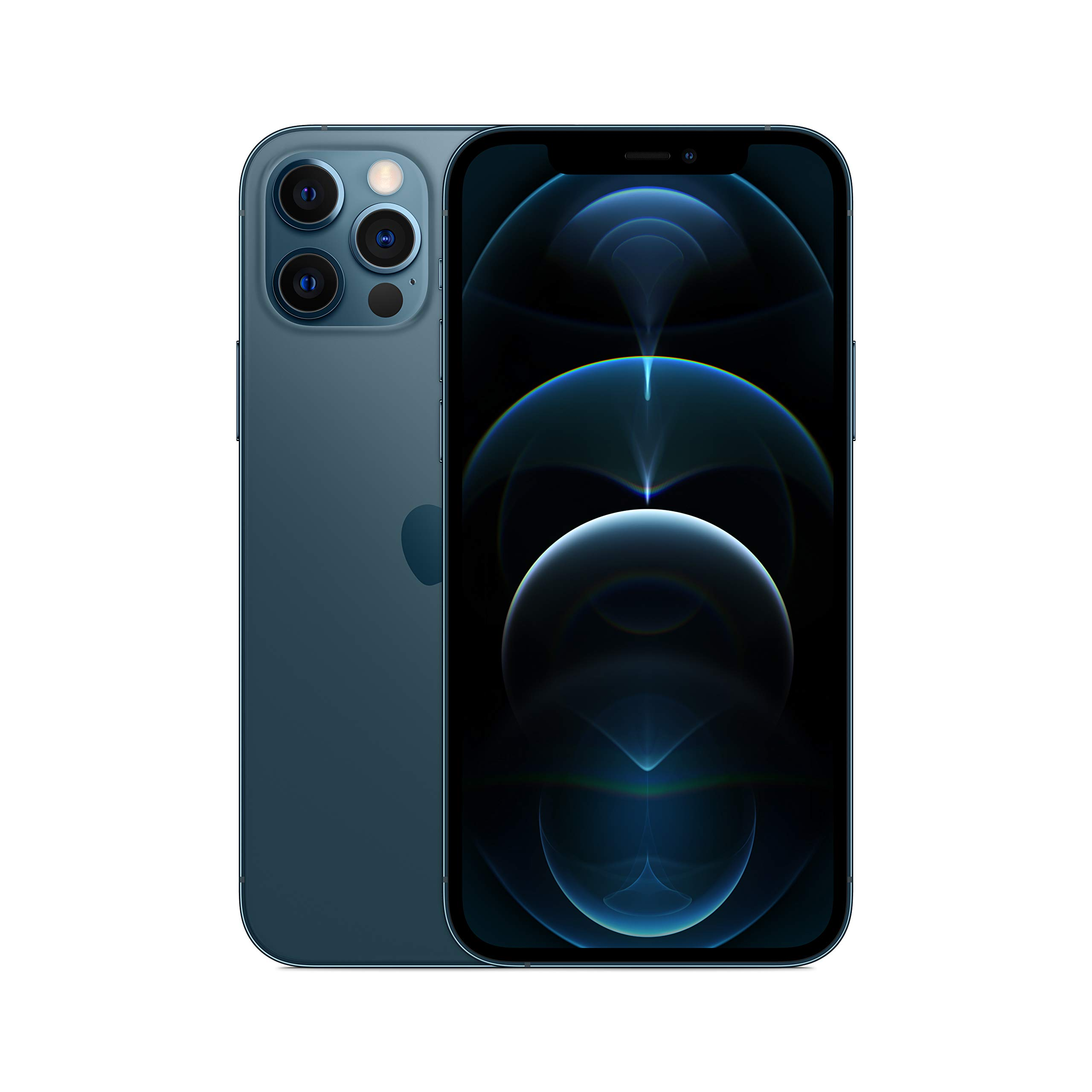 New Apple iPhone 12 Pro (128GB, Pacific Blue) [Locked] + Carrier Subscription