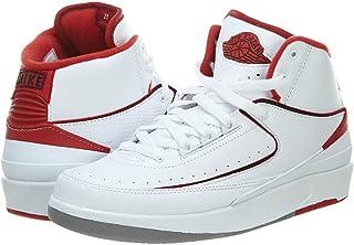 NIKE JWONGBOUTIQUE 2014 Air Jordan II White Varsity Red 395718 sz 6