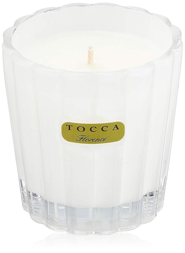 闘争帝国主義会議トッカ(TOCCA) キャンデリーナ フローレンスの香り 約85g (キャンドル ろうそく 上品なフローラルの香り)