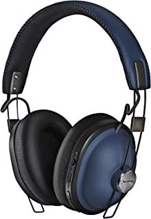 Panasonic Wireless Headphones with Bluetooth connectivity, Navy Blue, (RPHTX90NEA)