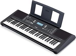 Yamaha PSRE373 61-Key Touch Sensitive Portable Keyboard (Pow