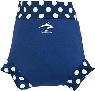Baby-Schwimmwindel modische atmungsaktive Unisex Schwimmwindeln wiederverwendbare wasserdichte Schwimmhose mit Druckkn/öpfen Trainingshose f/ür 3-15 kg Baby DY2