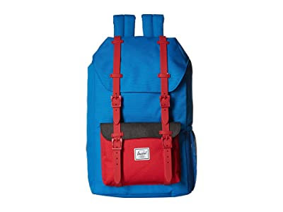Herschel Supply Co. Kids Little America (Youth) (Imperial Blue Red/Black Crosshatch) Backpack Bags