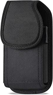 Golden Sheeps Carrying Case Compatible with Symbol Motorola (Zebra) MC40 MC45 Handheld Barcode Scanner Touch Mobile Computer Rugged Heavy Duty Cases with Metal Clip and Belt Loop