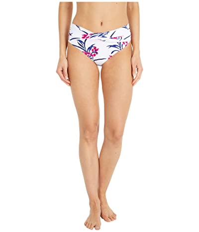 Tommy Bahama Oasis Blossoms High-Waist Twist Front Pant (White) Women