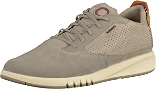 Geox U Aerantis, Men's Fashion Sneakers, Beige (Beige C9007), 40 EU