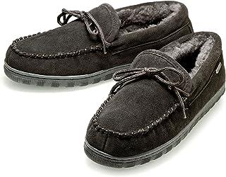 K.Signature品牌钜惠包邮Dave (大卫)冬季男士青年中老年居家户外真皮舒适保暖羊毛鞋