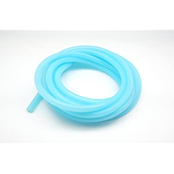 8mm 3 Meter Autobahn88 High Performance Silicone Clear Color Vacuum Hose 14mm OD 0.55 10 Feet per reel ID 0.31 Clear White