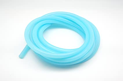 4.5 Meter 15 Feet per reel 9mm 4mm OD 0.35 Clear Blue ID 0.16 Autobahn88 High Performance Silicone Clear Color Vacuum Hose