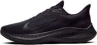 Nike Calzado de Running para Hombre Zoom Winflo 7, Black/Black-Anthracite, 10 US
