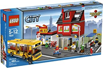 lego city corner pizza shop