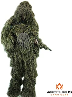 Arcturus Ghost Ghillie Suit for Men | Dense, Double-Stitched Design | Superior Camo..