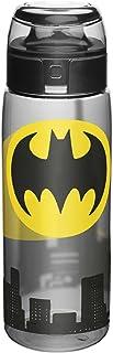 Zak Designs DC Comics - Bote de cocina (24 oz) Botella de agua reutilizable sin BPA, Batman, Botella boca grande libre de BPA, 729 ml, Batman, 0, 1