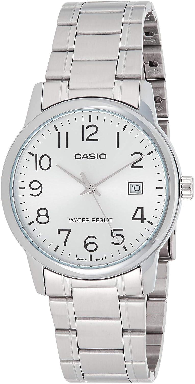 Casio Reloj Analógico para Hombre de Cuarzo con Correa en Acero Inoxidable 4549526174711