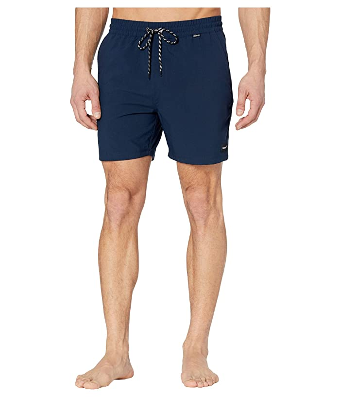 Hurley  17 One Only Volley Boardshorts (Obsidian) Mens Swimwear