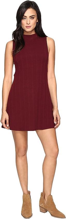 Culture Phit - Jordan Sleeveless Mock Neck Dress with Open Sides