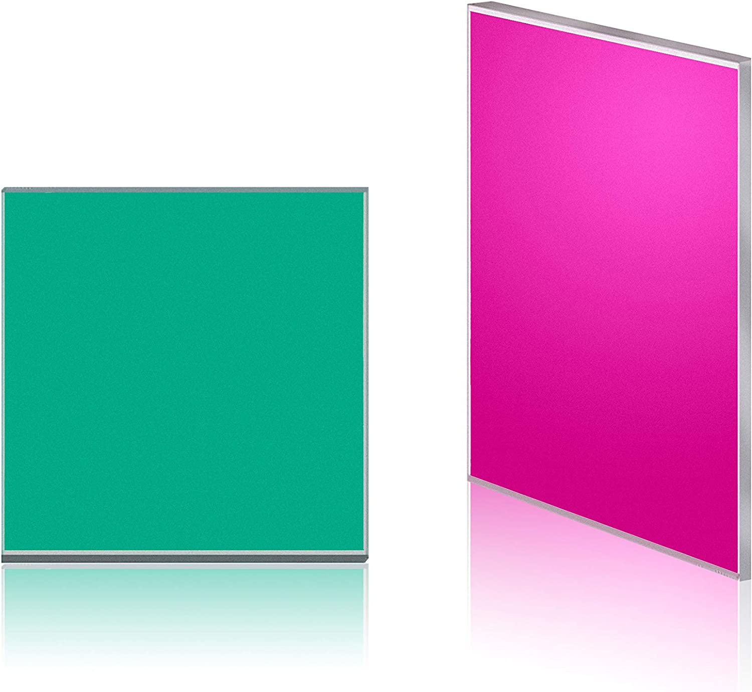 Quanmin 2pcs Very popular! 15mm Manufacturer OFFicial shop Square Featuring a Cut-Off IR 710nm wavelength