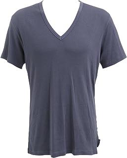 (カルバンクライン)Calvin Kleinリブ地半袖Tシャツ 53687001