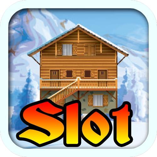 Swiss Ski Chalet Alps Switzerland Lucky Jackpot Progressive Casino Slot Machine Poker Machine Slots - Free Vegas Slots