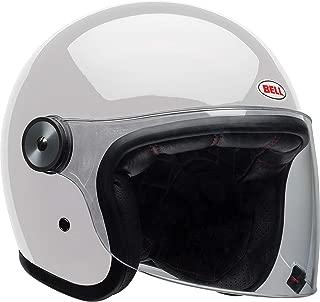white vespa helmet