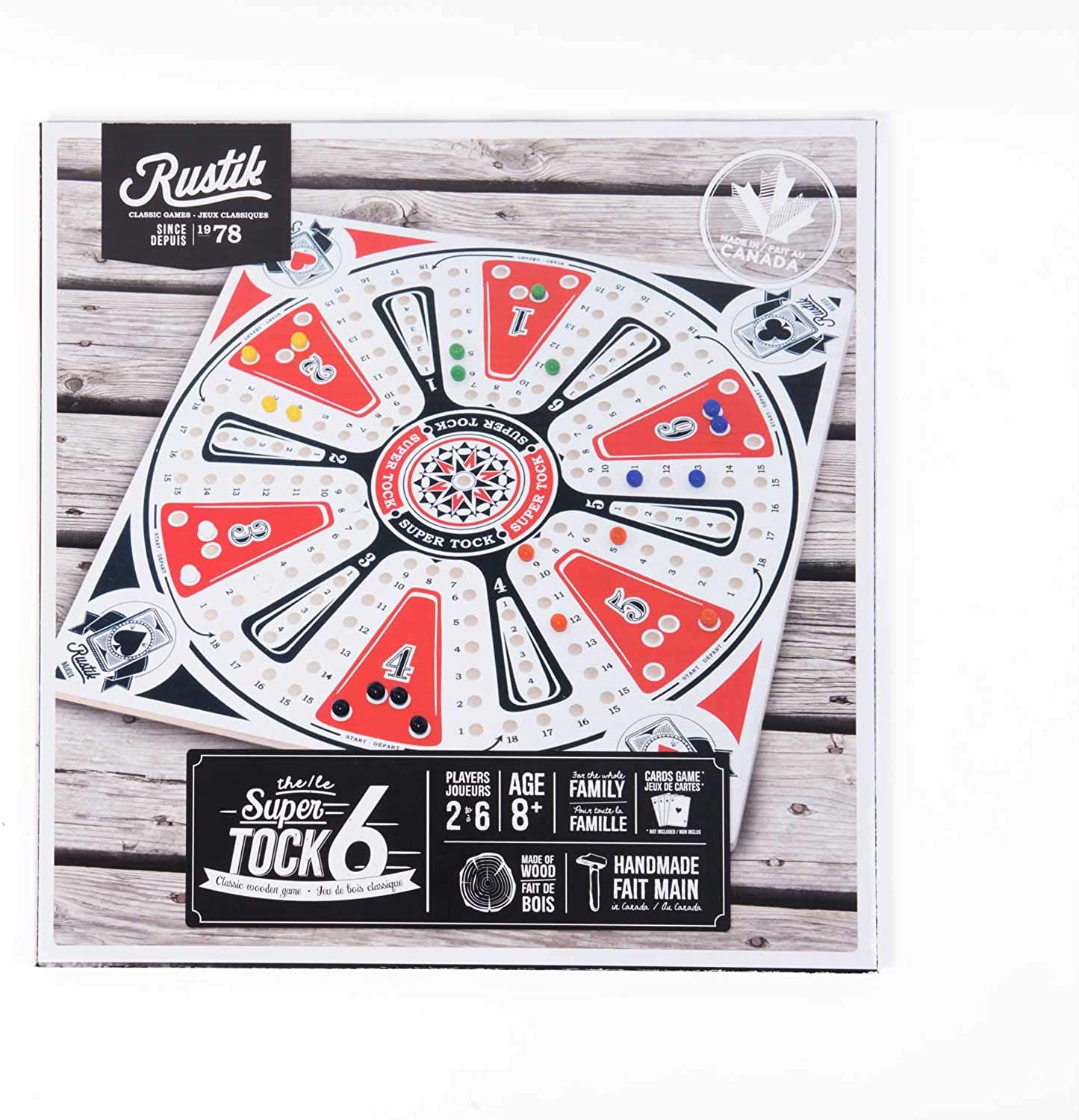 Bojeux Super Tock for 6 Players  22